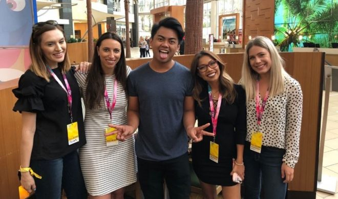 A Day In The Life Of Agents At VidCon With Abrams Artists' 'Quad Squad'