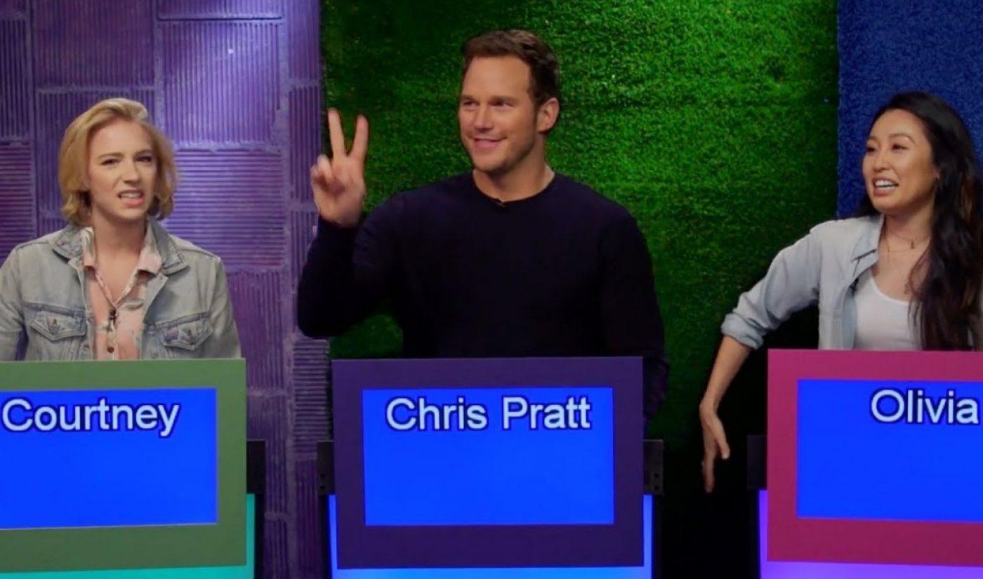 Chris Pratt Promotes Latest 'Jurassic World' Movie With Appearance On Smosh Game Show