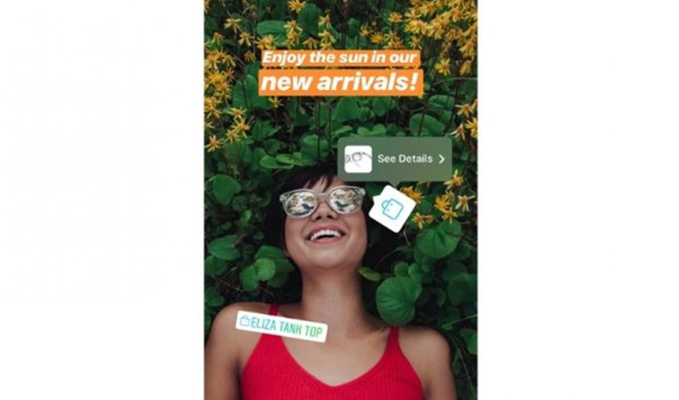 Instagram Rolls Out Ecommerce In Stories, As Snapchat Tests Shoppable Ads