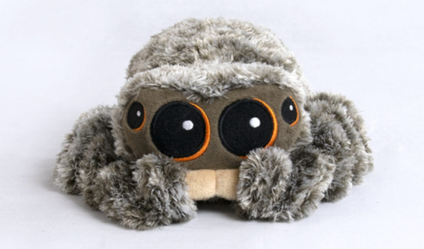 $800,000 Worth Of 'Lucas The Spider' Plushies Have Been Sold In 10 Days