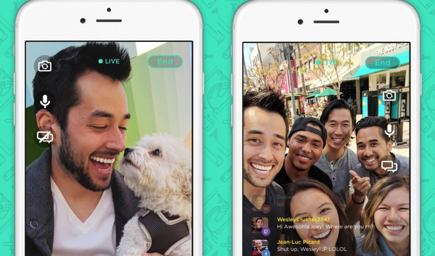 Mobcrush's Mobcam Tool Lets Users Stream To Multiple Live Video Platforms At Once