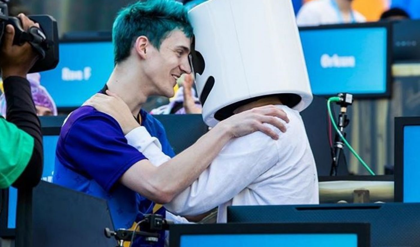 Ninja And Marshmello Win $1 Million For Charity At Fortnite's First Celeb Pro-Am Tournament