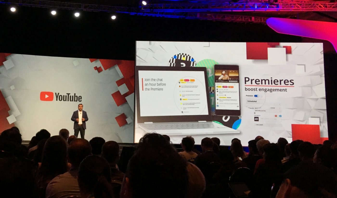 YouTube Debuts Premieres To Let Creators Launch New Videos Within Live Streams