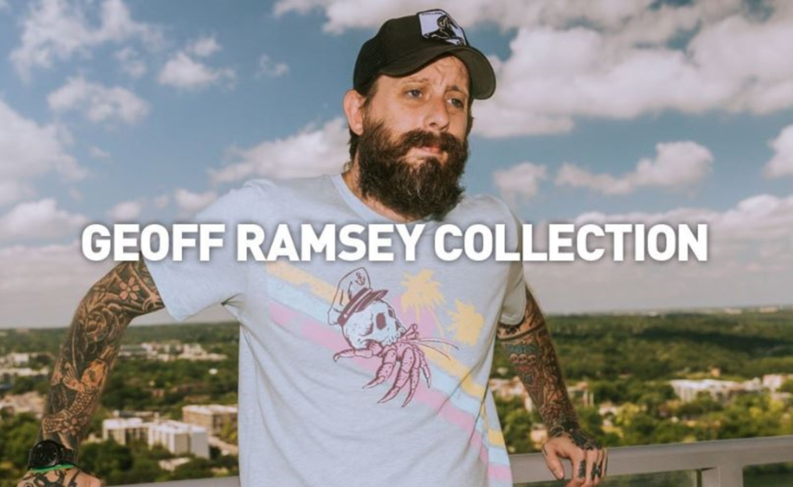 Rooster Teeth Opens First Pop-Up Store In Los Angeles For Its Geoff Ramsey Collection