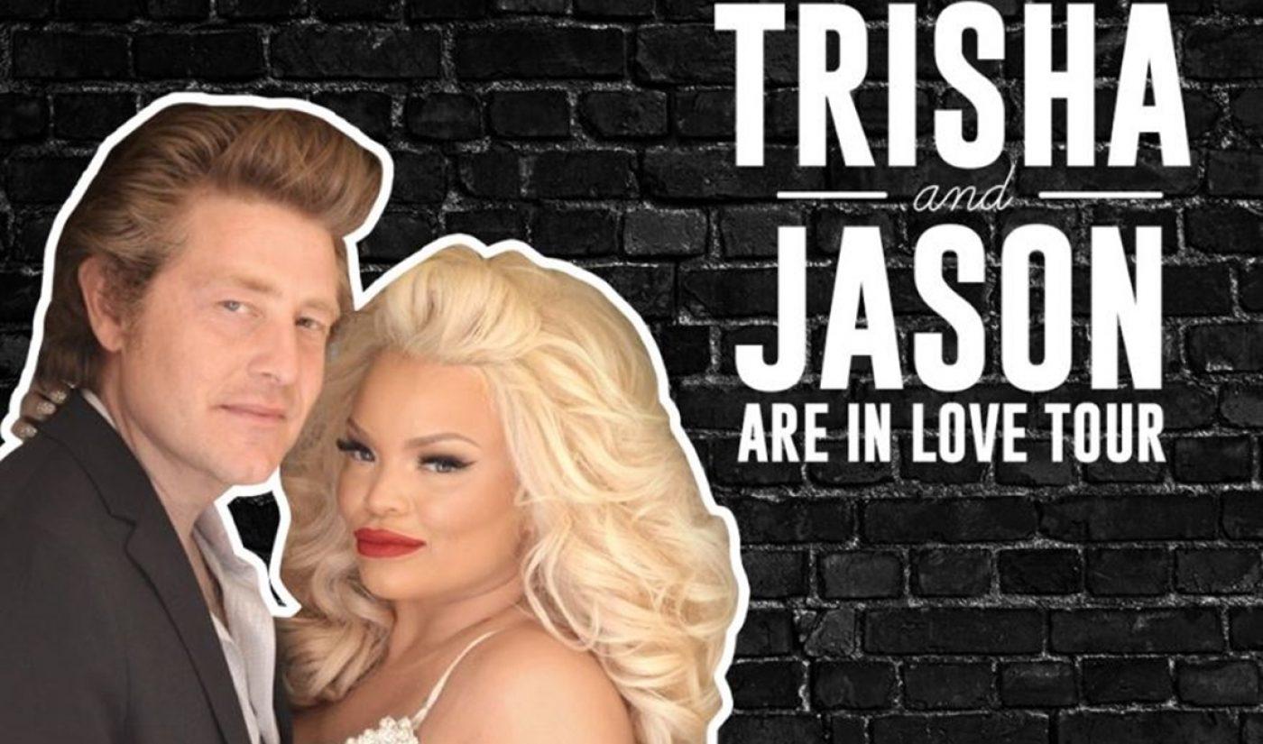 YouTube Power Couple Trisha Paytas And Jason Nash To Tour With Fullscreen Live