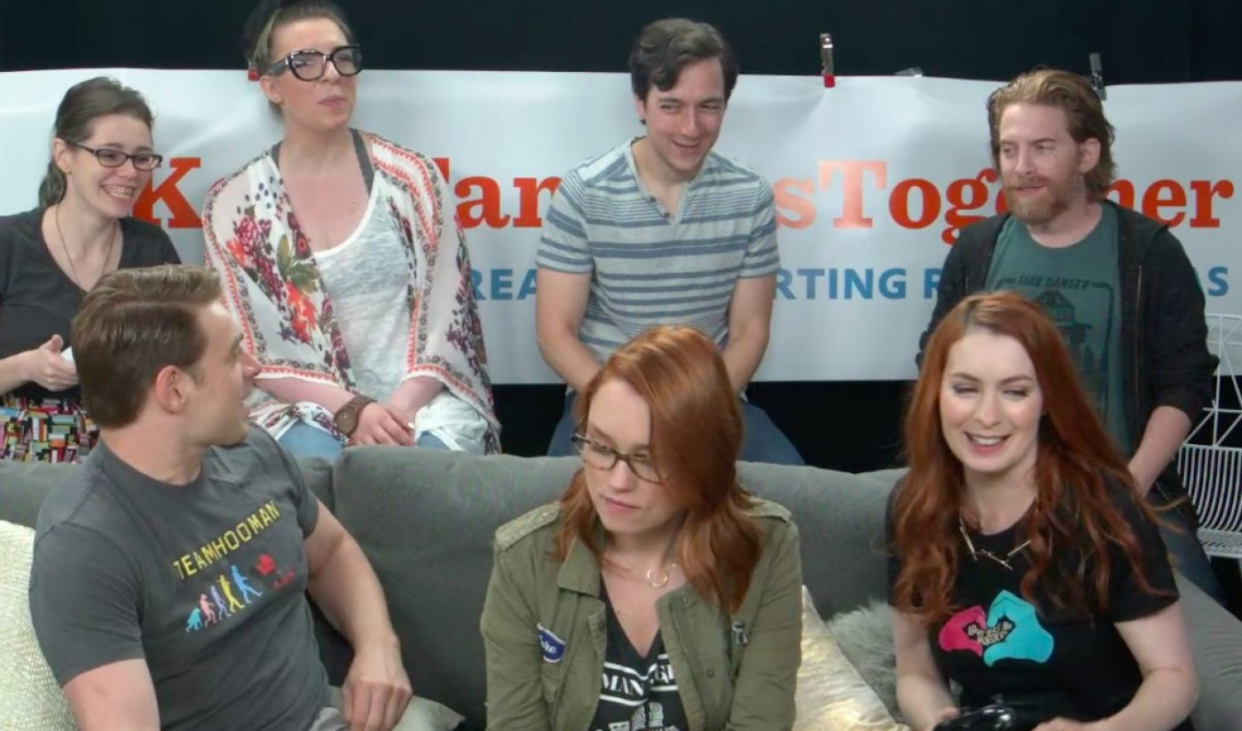 Felicia Day's Twitch Charity Live Stream Raises Over $250k To Aid Separated Families At U.S. Border