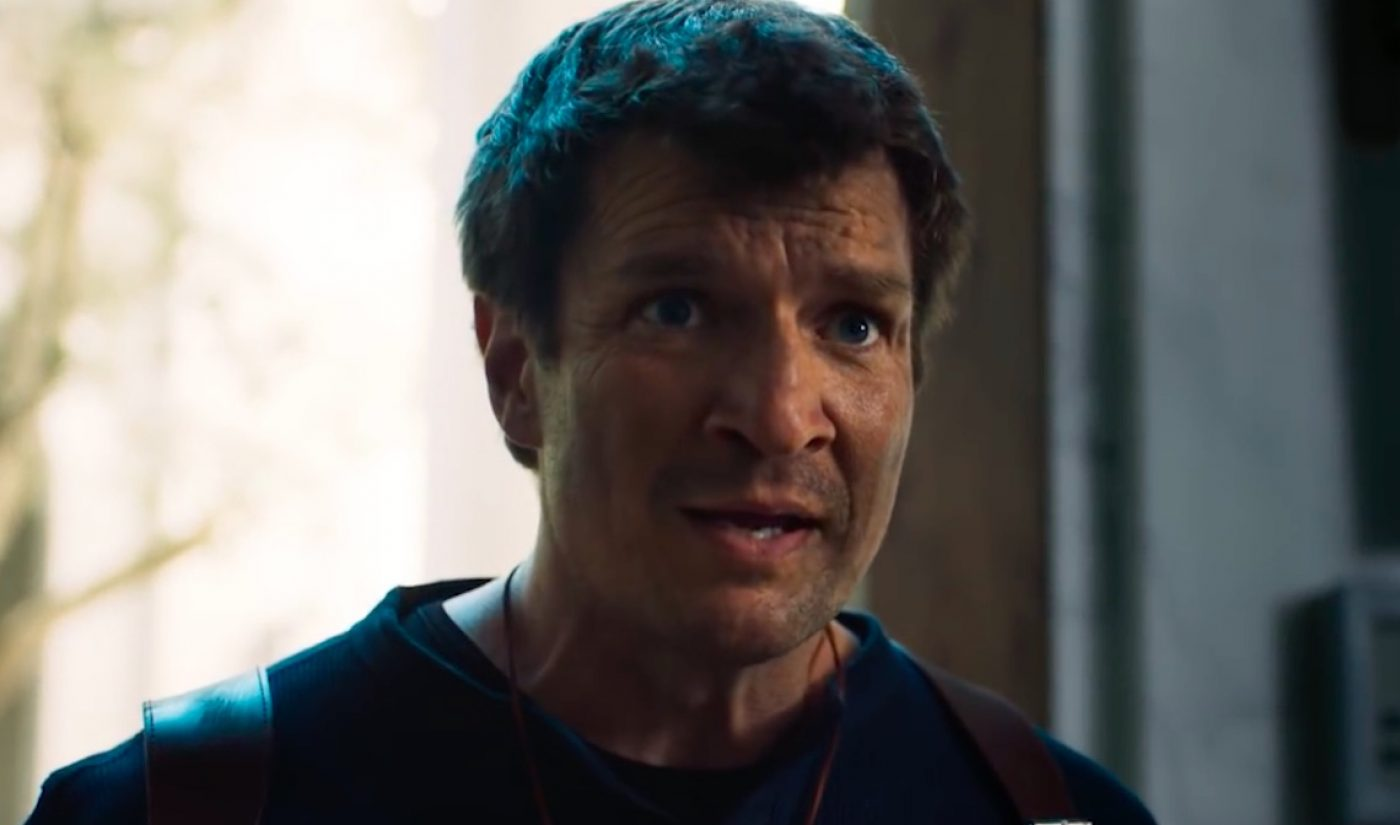 Actor Nathan Fillion Just Created A YouTube Fan Film Of Video Game 'Uncharted'
