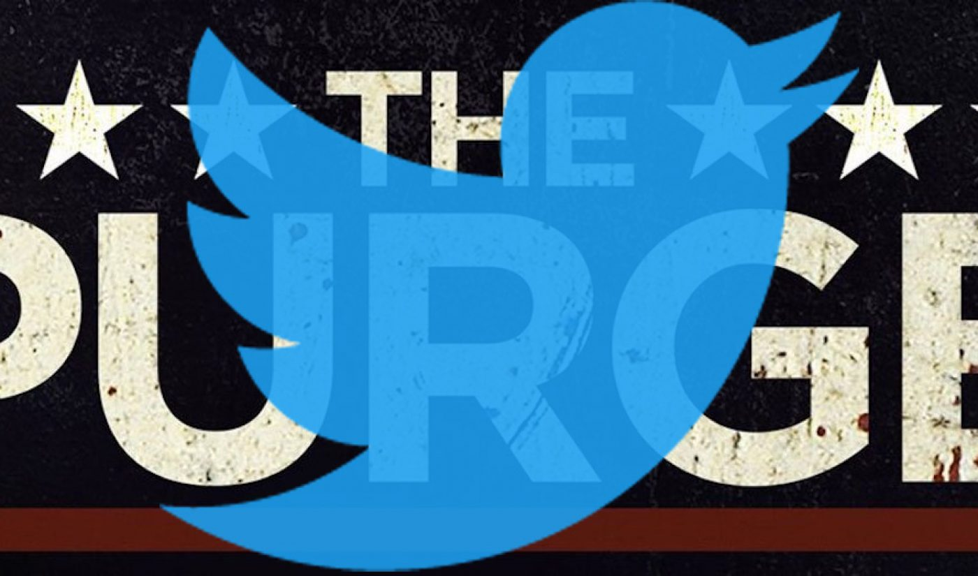 Insights: Purging – It's Not Just For Twitter Anymore (Or At Least It Shouldn't Be)
