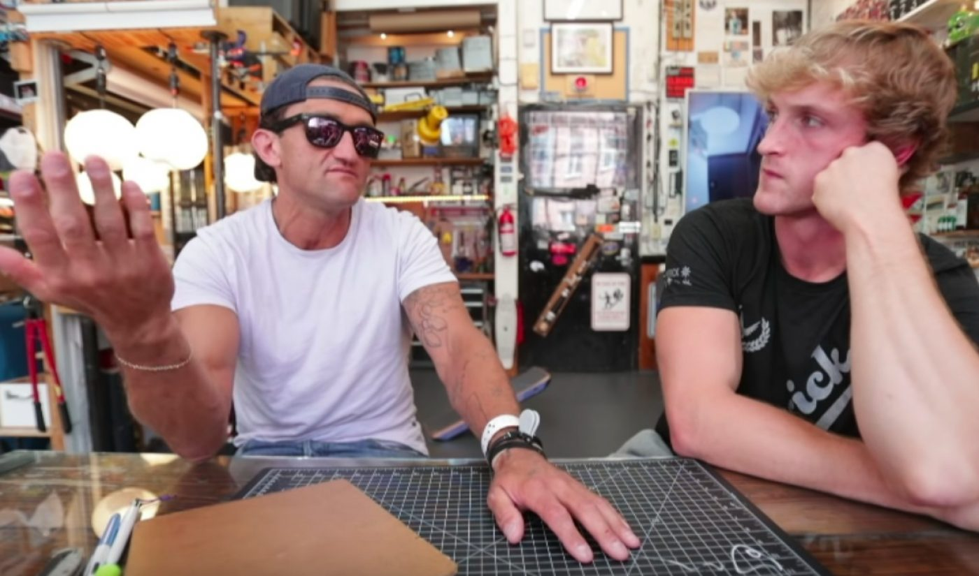 """Casey Neistat Challenges Logan Paul In Testy Interview: """"All That Really Matters Is What Transpired"""""""