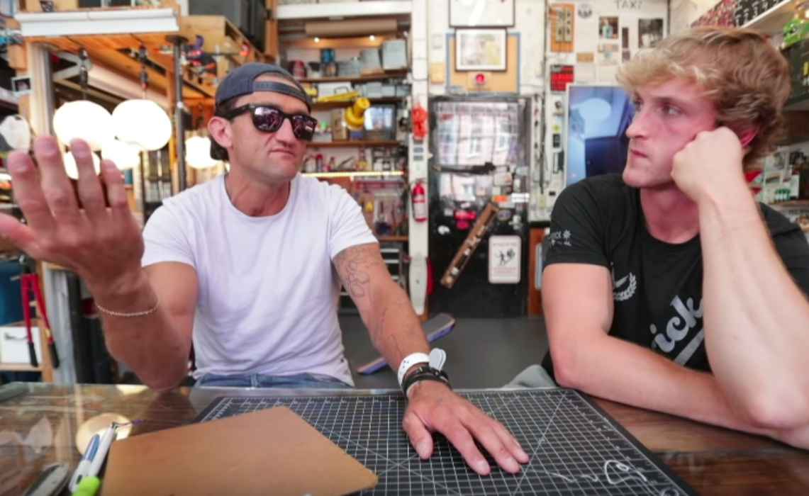 """16449ca9e0 Casey Neistat Challenges Logan Paul In Testy Interview  """"All That Really  Matters Is What Transpired"""""""