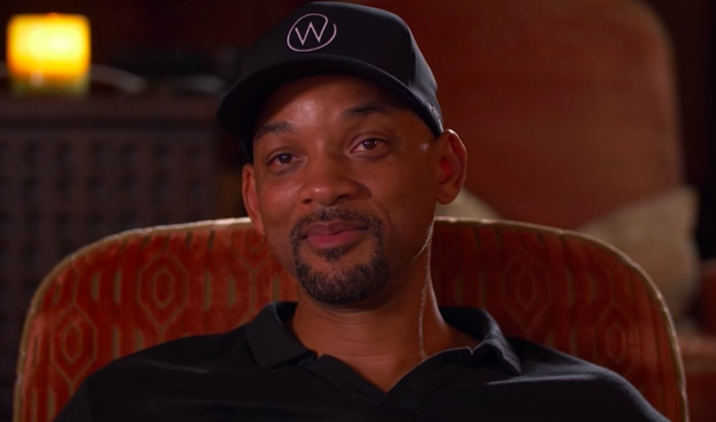 Will Smith Collects $20,000 In Two Days By Selling Merch On YouTube's New Teespring Shelf