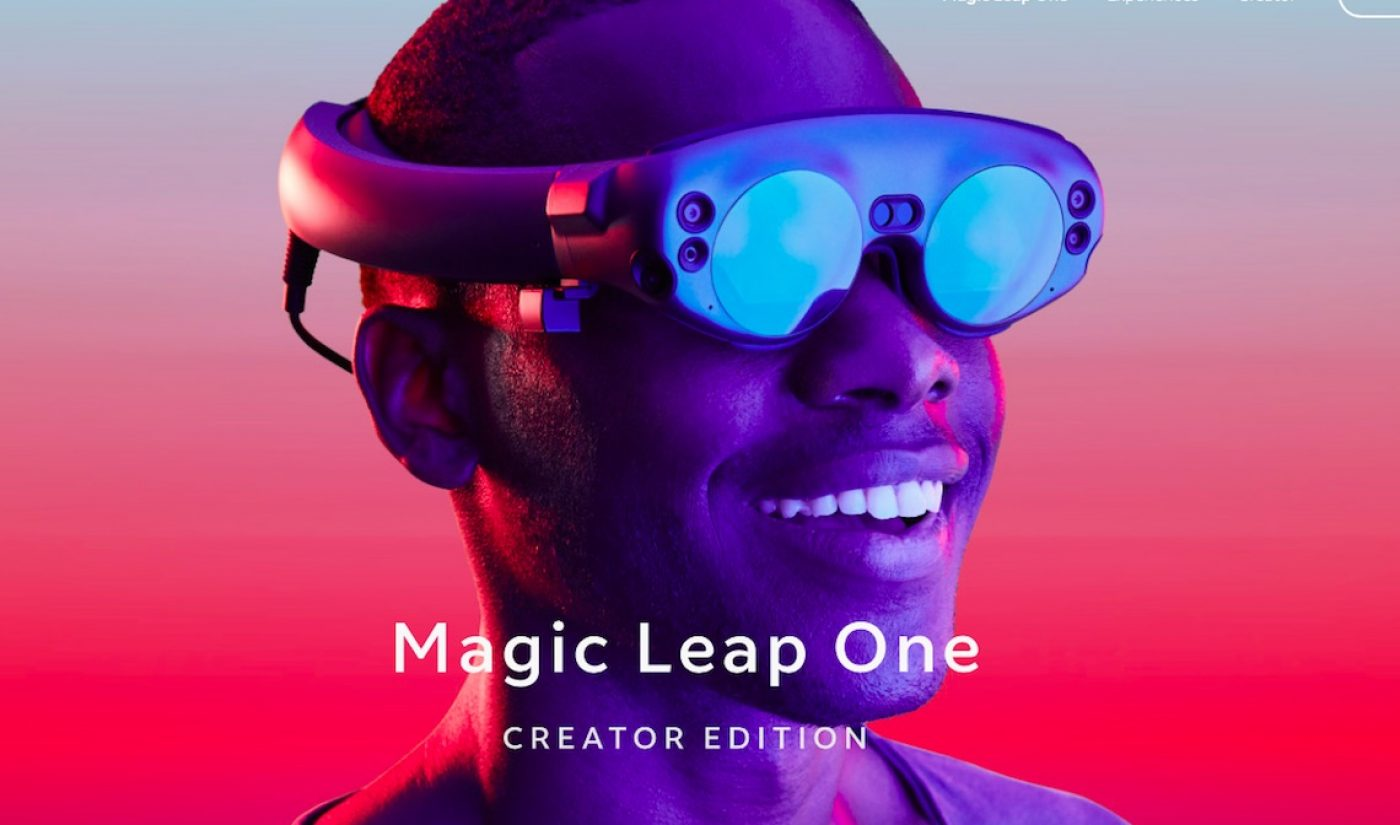 AR Headset For Creators, Magic Leap One, Goes On Sale Today For $2,295