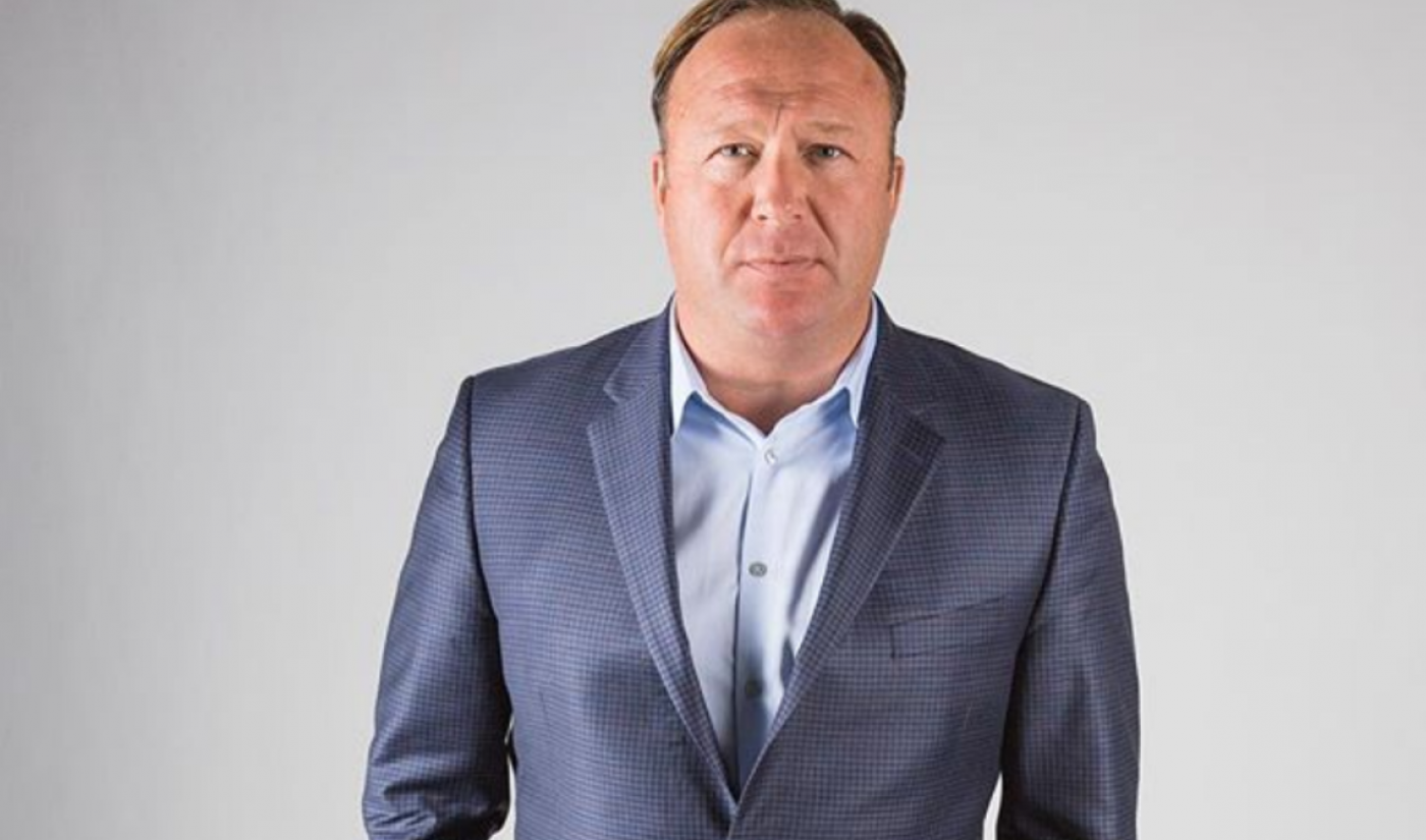 Alex Jones' Infowars Channels Scrubbed From YouTube, Facebook, Apple, And Spotify