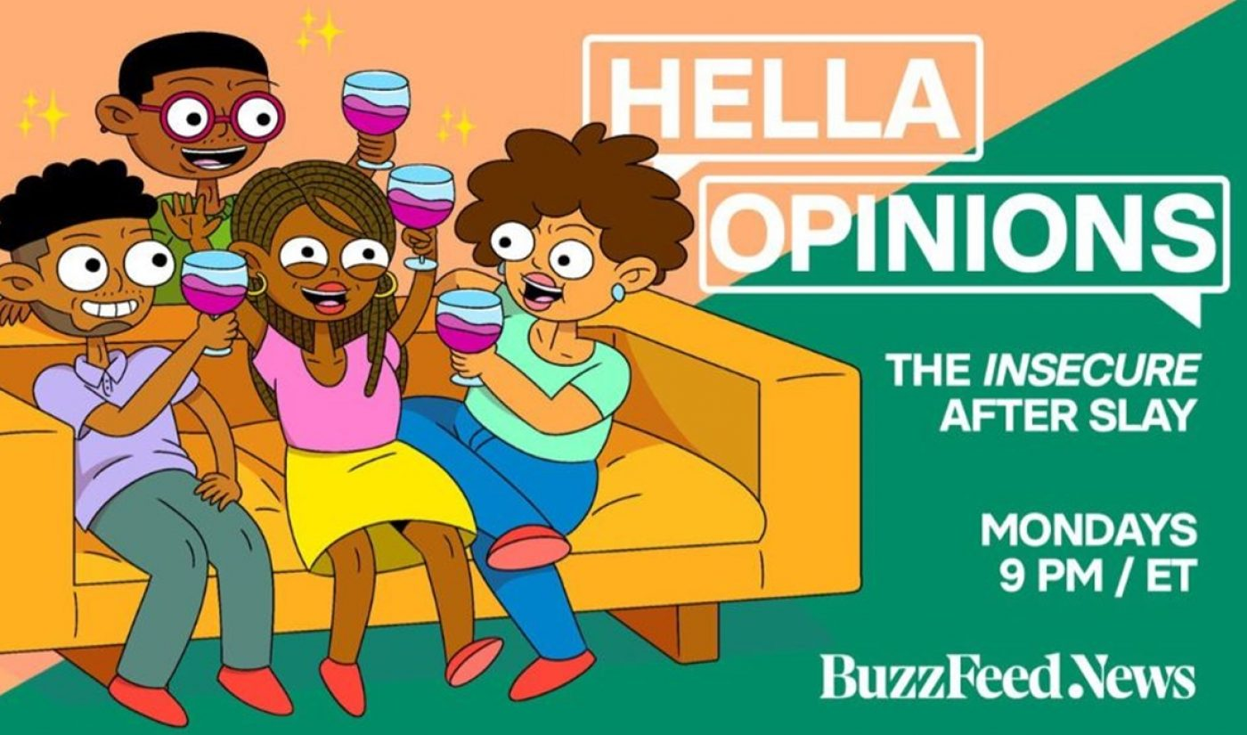 BuzzFeed Launches After-Show For HBO's 'Insecure', Streaming Live On Twitter