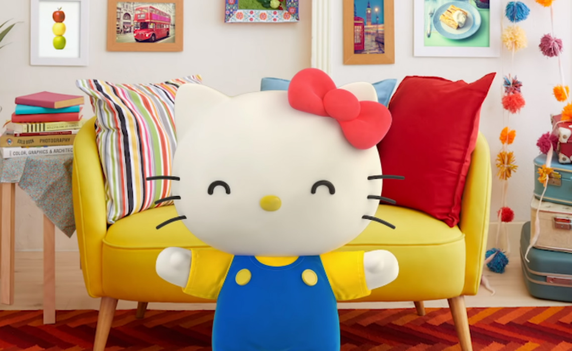 Hello Kitty Is The Latest Beloved Fictional Character To