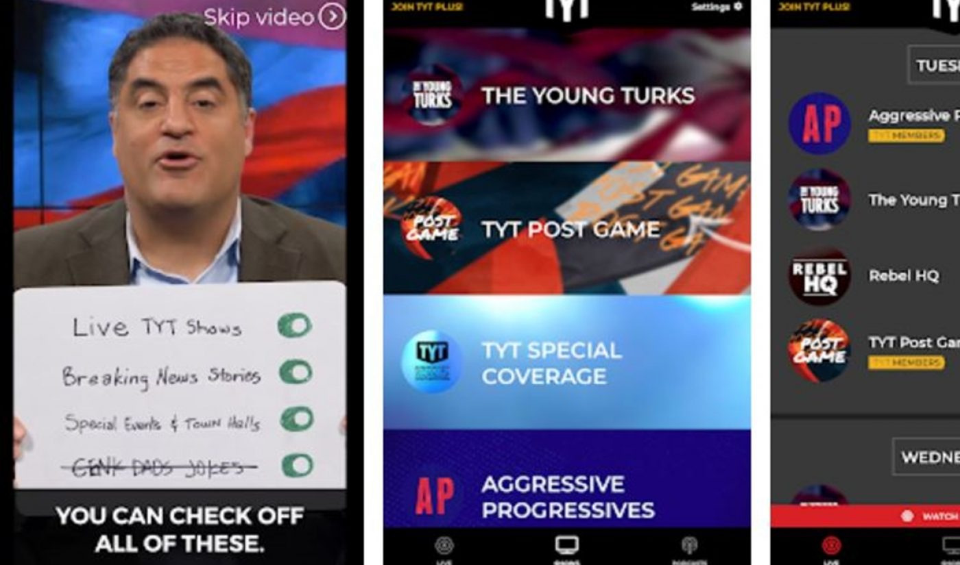 TYT Network Launches Native Android App Ahead Of Midterm Elections