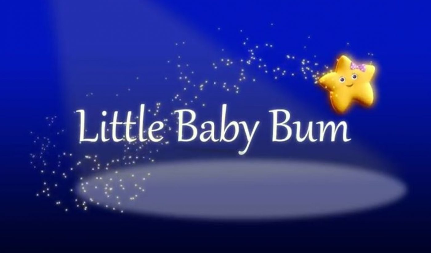 The 9th Most-Viewed YouTube Channel On Earth, 'Little Baby Bum', Has Been Acquired