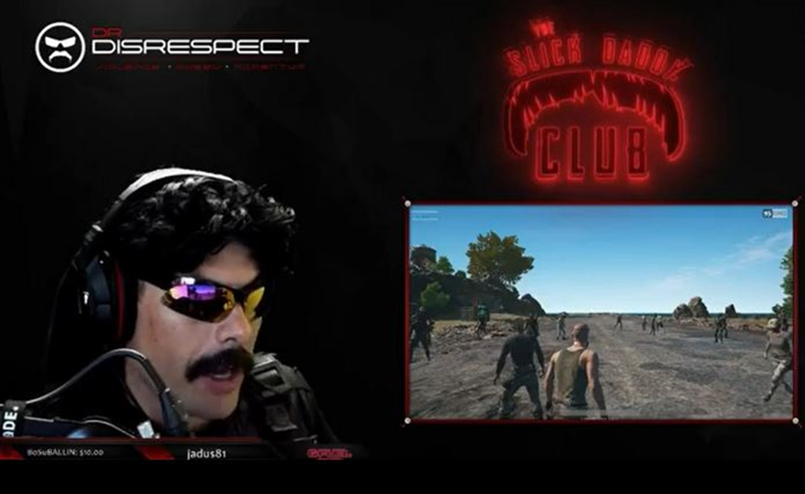twitch star dr disrespect cuts off stream after somebody fires