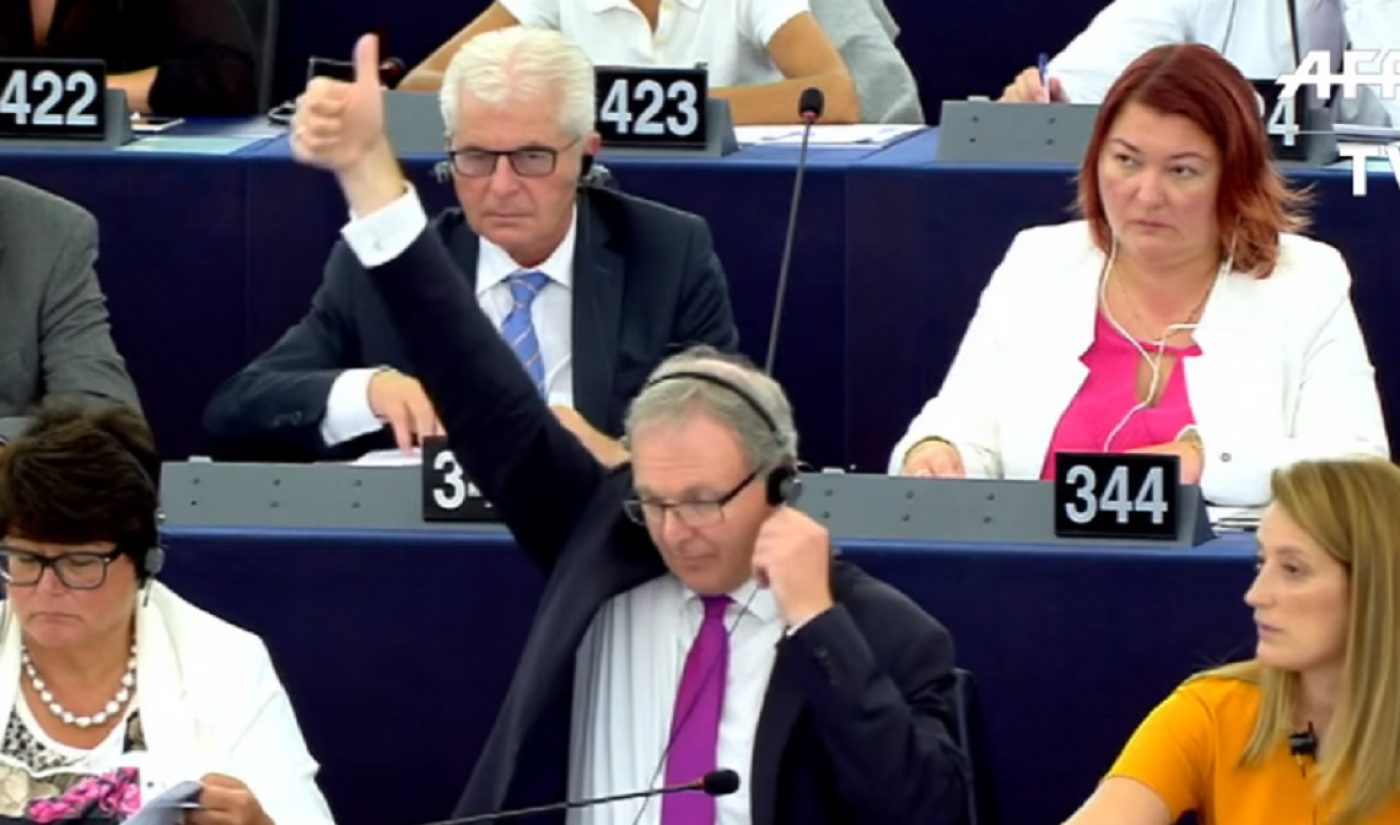 EU Approves Controversial Copyright Reform, Could Force YouTube And Other Platforms To Remove All Copyrighted Content