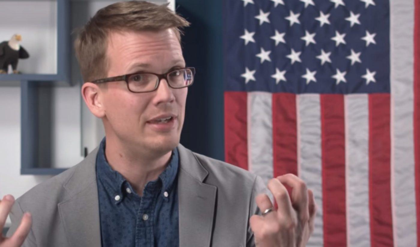 Hank Green Releases New 'How To Vote In Every State' Videos Ahead Of Midterm Elections