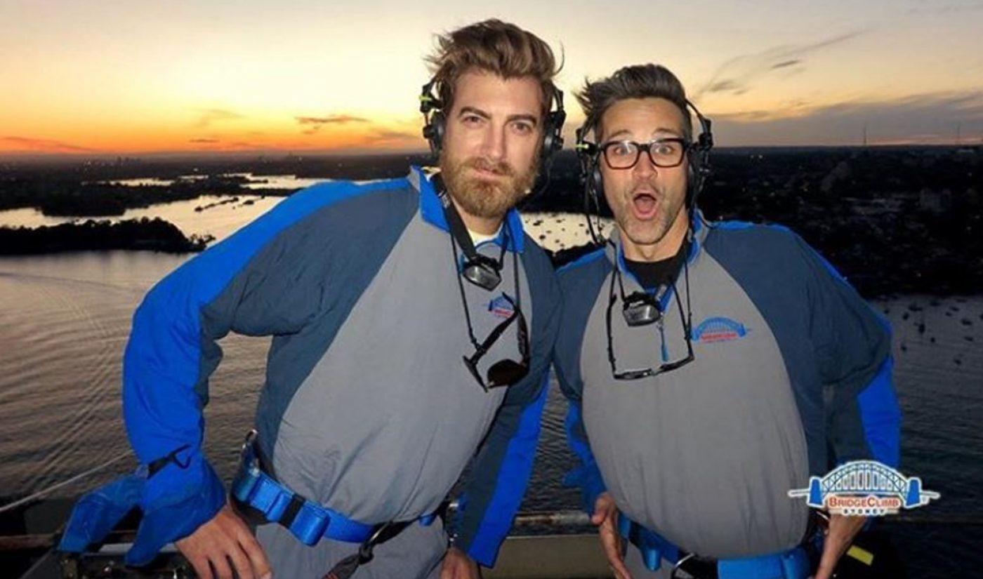 Rhett & Link Tout Morning Show Dominance In Cheeky 50-State Outdoor Billboard Campaign