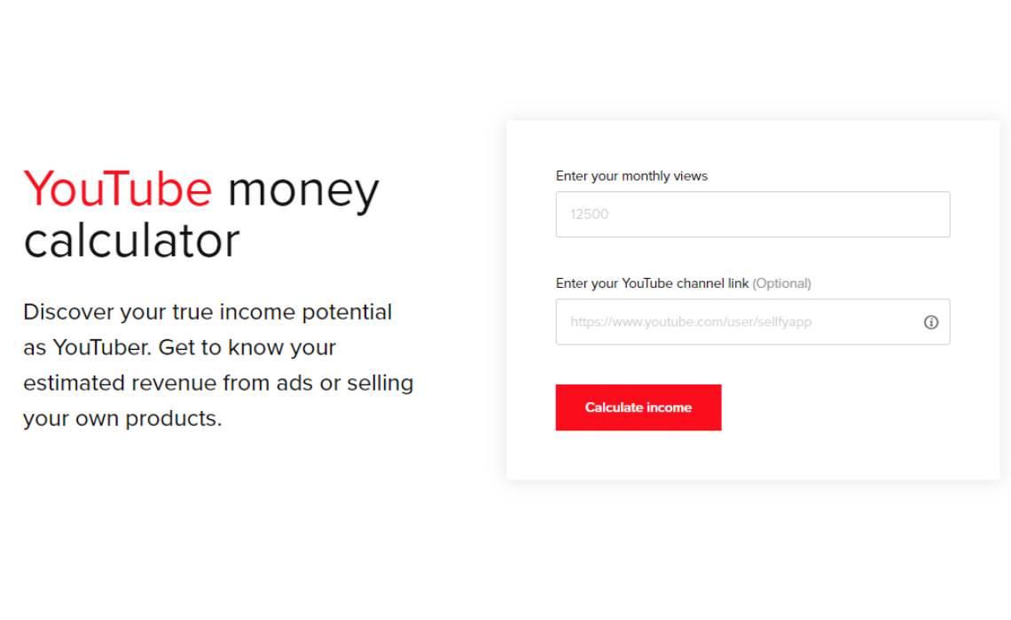 This Nifty Tool Estimates How Much Money Youtubers Can Make From Adsense Vs Selling Merch Tubefilter