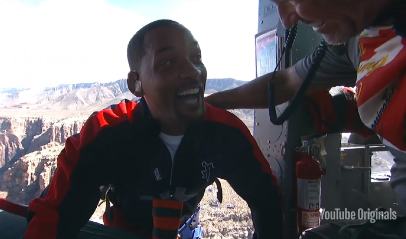 YouTube Channel Yes Theory Got Will Smith To Bungee Jump Over The Grand Canyon, And Millions Are Watching