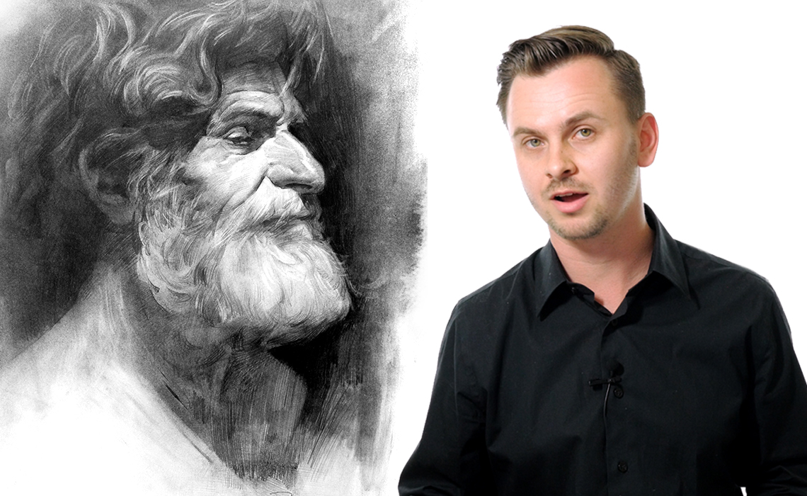 Youtube millionaires artist stan prokopenko teaches the internet how to draw everything from bone structure to butts