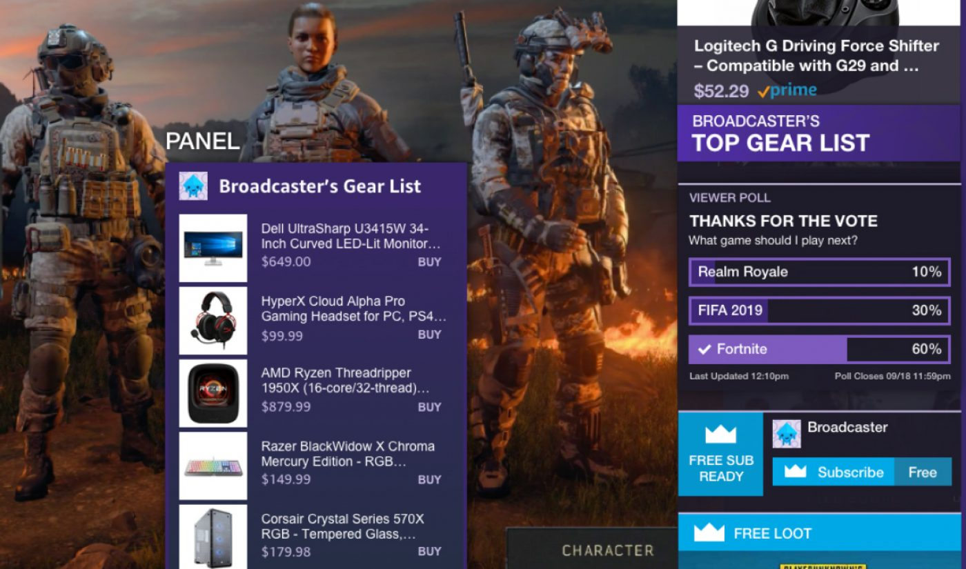 Twitch Adds New Affiliate Link, Merch Integrations To Help Creators Earn More Money