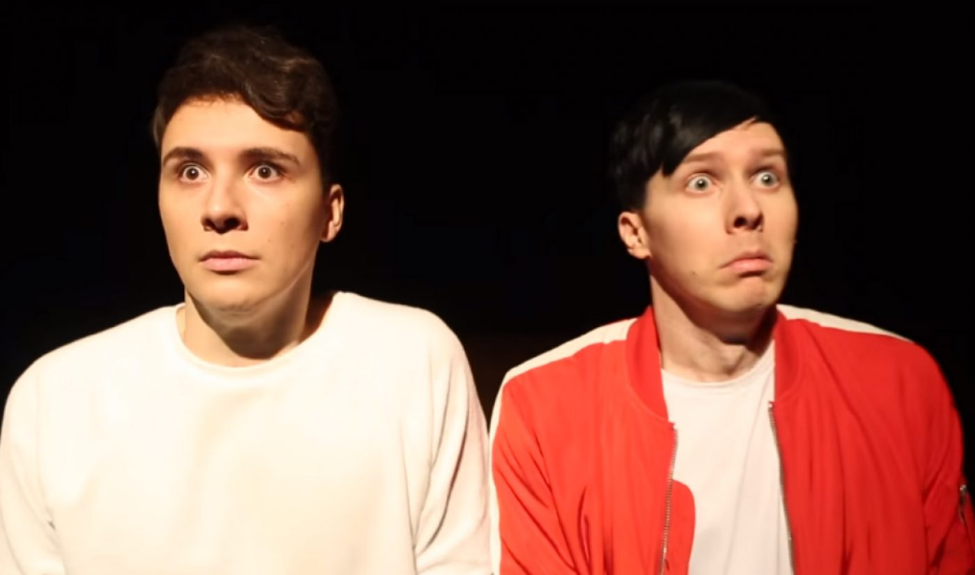 Dan & Phil Fans Can Soon Feast Their Eyes On The 'Interactive Introverts' Tour Film