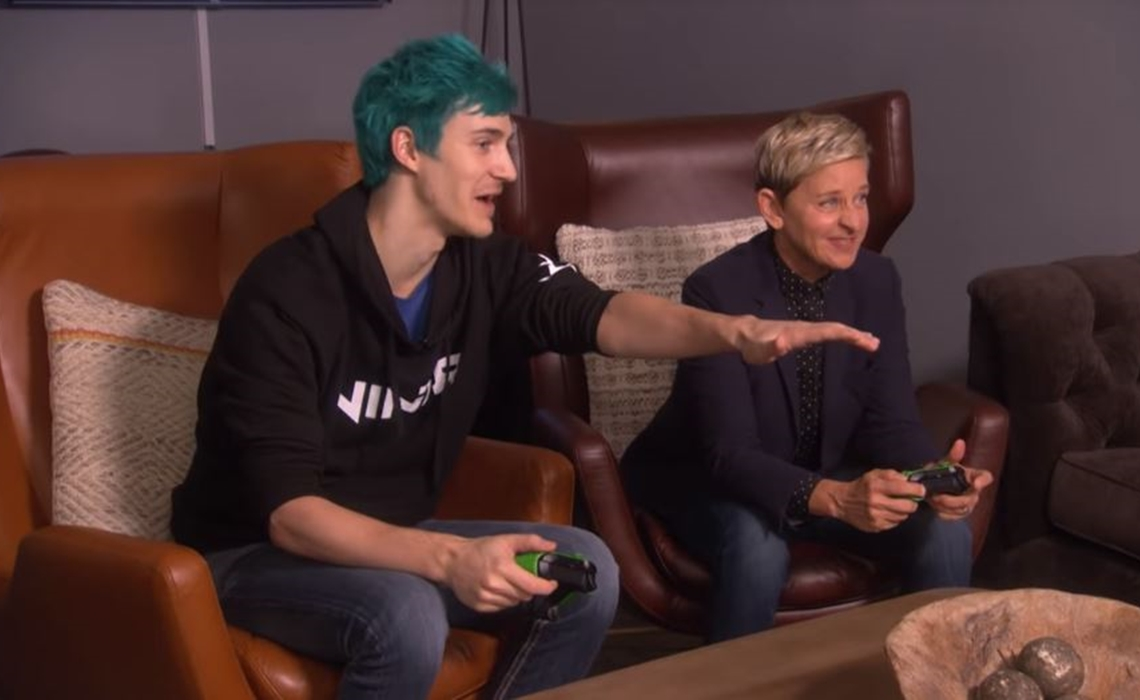 Ninja Continues Bid To Take Gaming Mainstream With 'Ellen