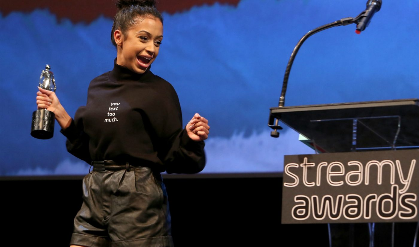 Streamys Winners Announced At Streamys Premiere Ceremony, 18 More Winners To Be Announced Tonight