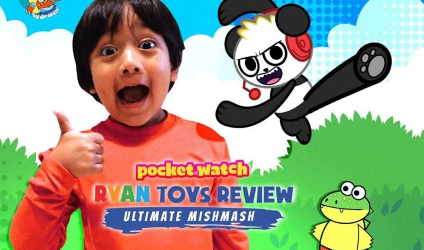 Pocket.watch Is Compiling Past Ryan ToysReview YouTube Clips For Distribution On Hulu, Amazon