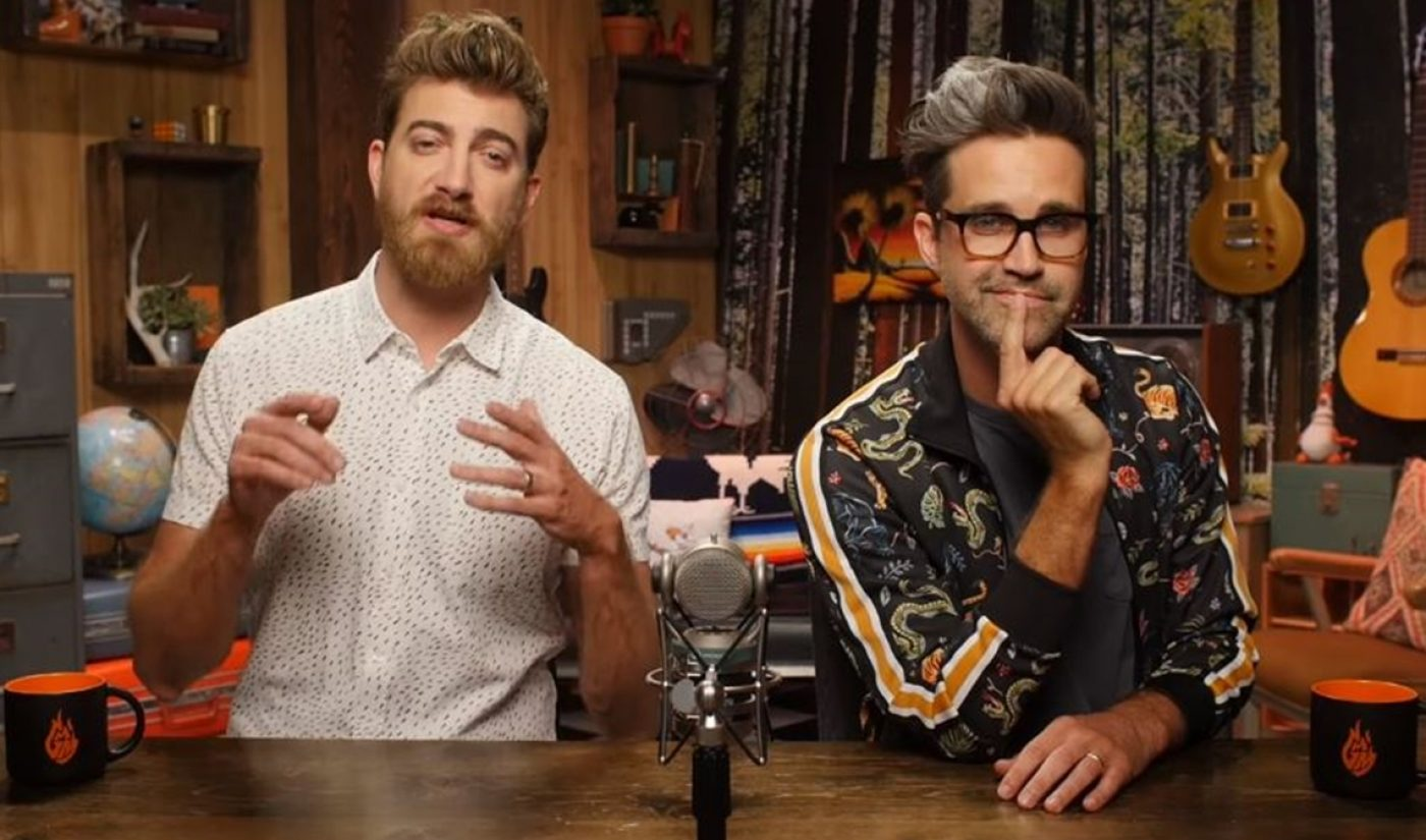 Rhett & Link Team With AIDS-Fighting Charity m2m To Raise Awareness, Funds
