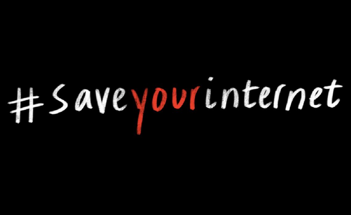 Risultati immagini per #saveyourinternet