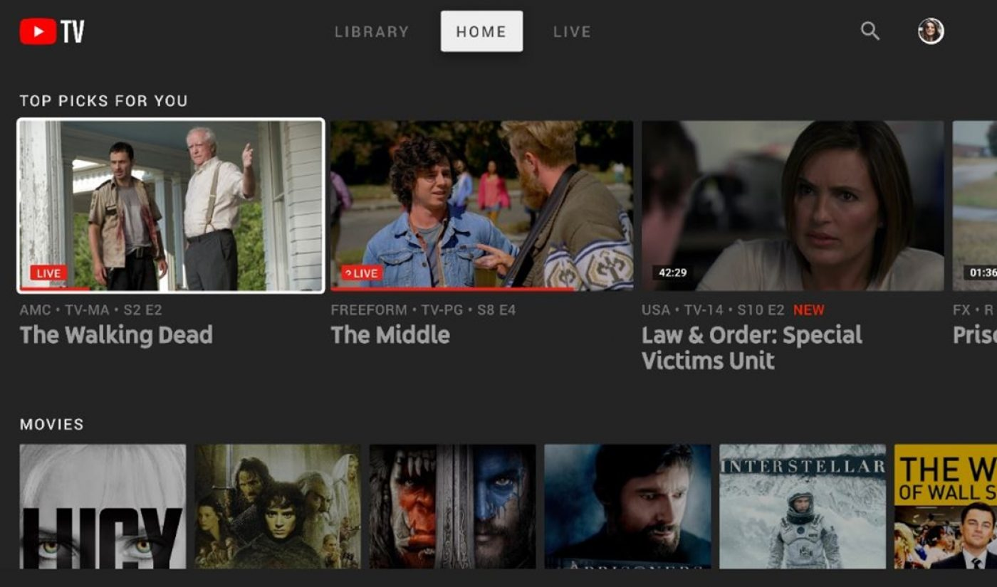 YouTube TV Adds Ability To Fast-Forward Through Ads On DVR'd Shows