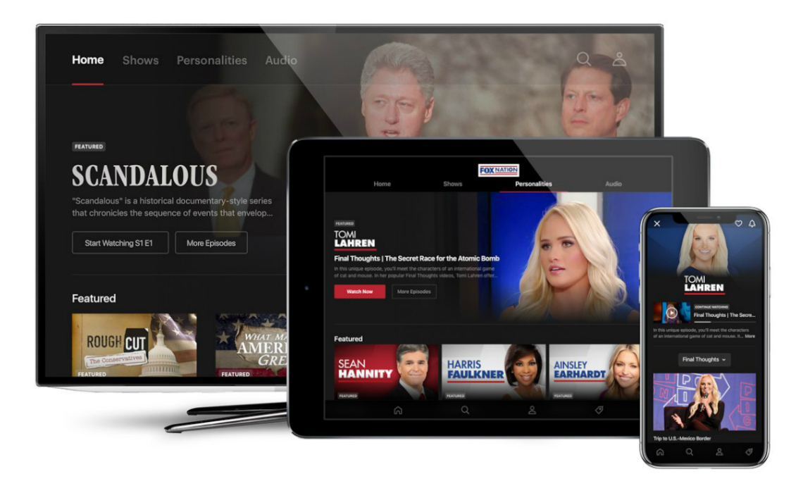 Fox News Launches Streaming Service Fox Nation