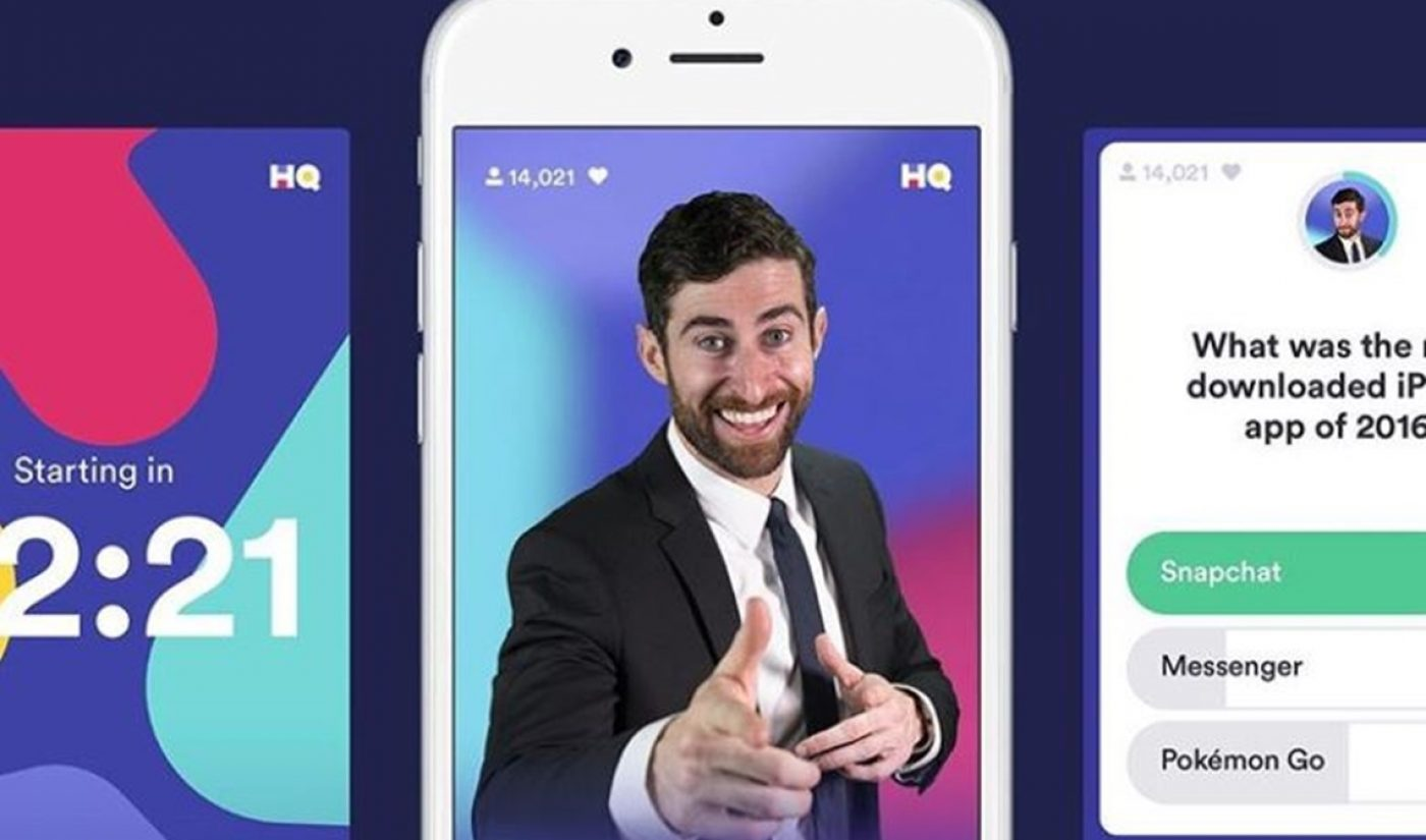 HQ Trivia Is Bleeding Users, Weathering CEO Drama Ahead Of Follow-Up Game Launch (Report)