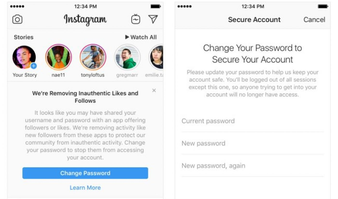Instagram To Purge Inauthentic Likes, Follows, And Comments To Ratchet Down Fake Engagement