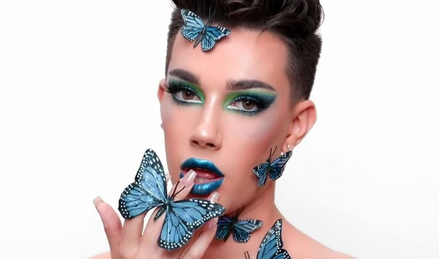 Approaching 10 Million Subscribers, James Charles Unveils Morphe Makeup Collab