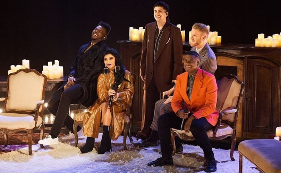 Pentatonix Christmas Youtube.Pentatonix Sets 3rd Nbc Christmas Special With Kelly