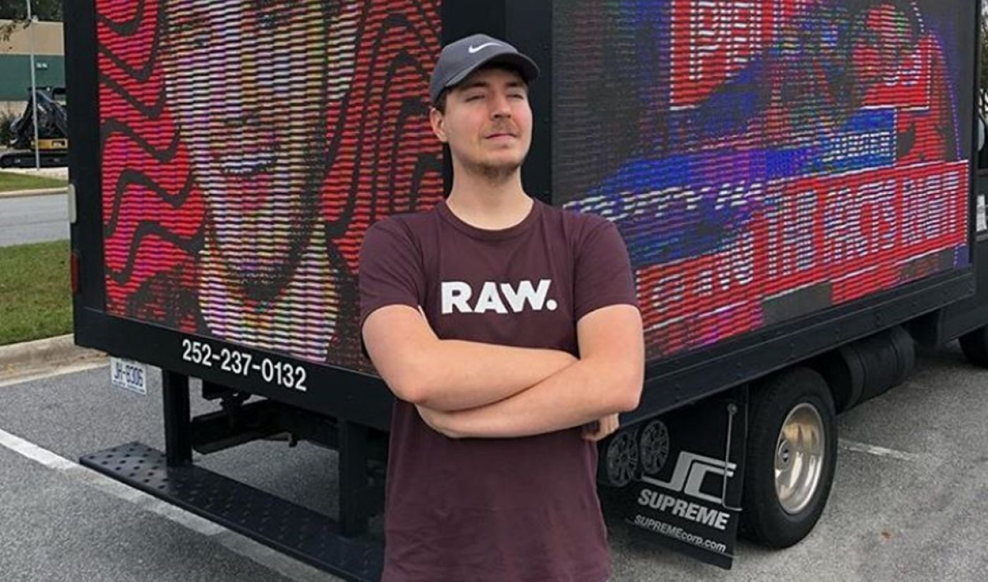 Mr. Beast Launches Last-Ditch Stunt To Keep PewDiePie Ahead Of T-Series, As Gap Temporarily Widens