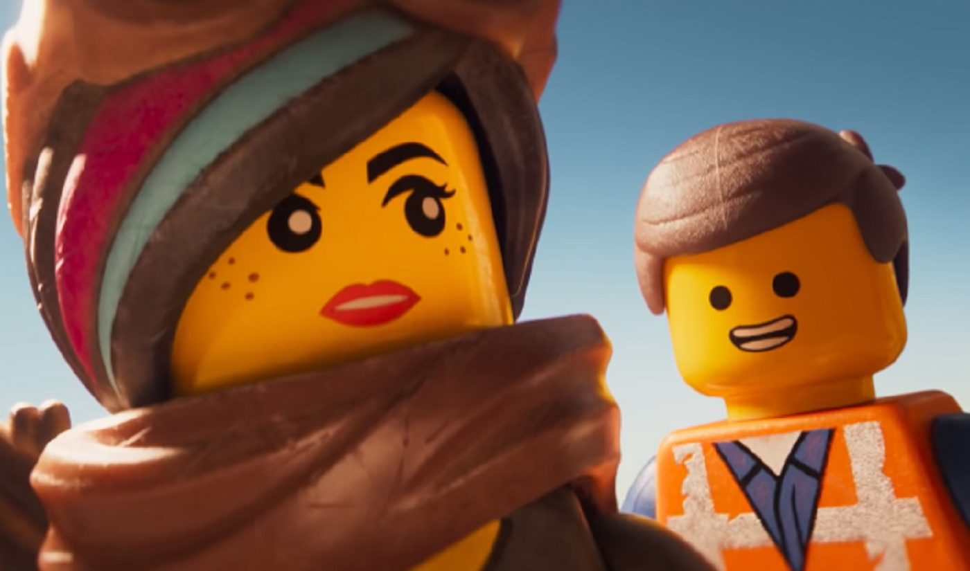 Youtube Builds Up To Lego Movie Sequel By Streaming First Film For Free On Black Friday Tubefilter