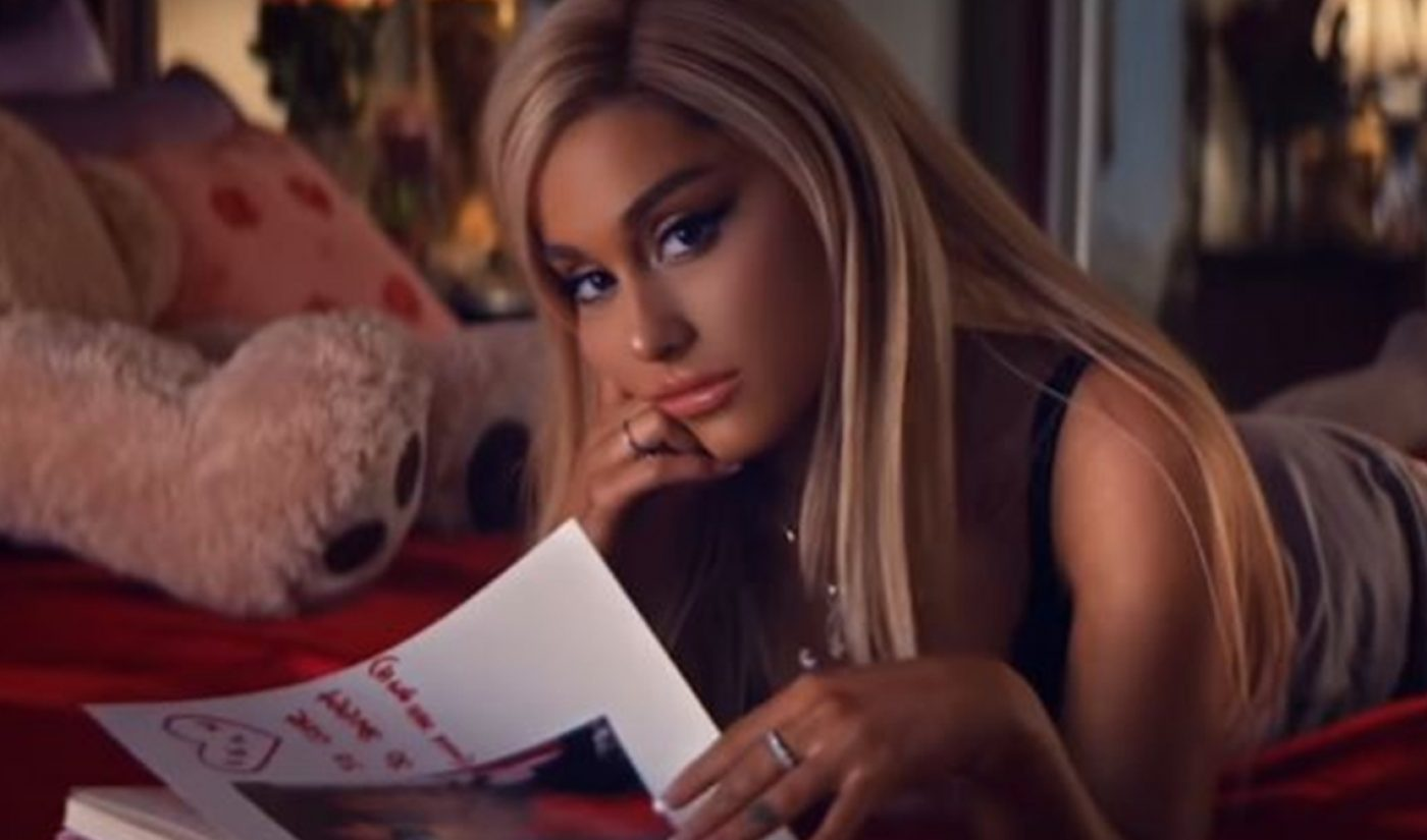 Ariana Grande Blasts Past Record For Biggest YouTube Debut In 24 Hours