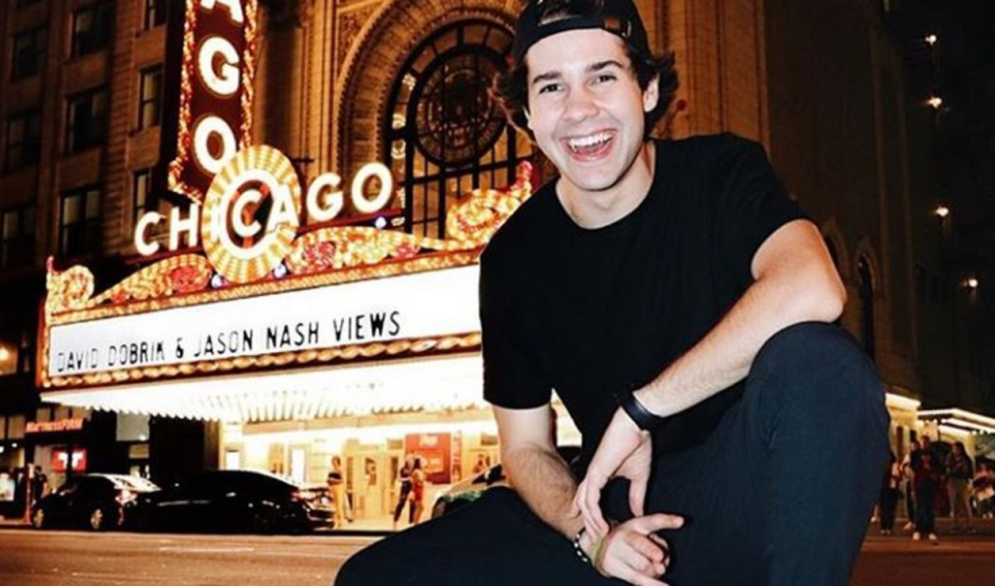 David Dobrik Wanted To Stop Vlogging After 420th Video, But Forged On After Rejected Netflix Show