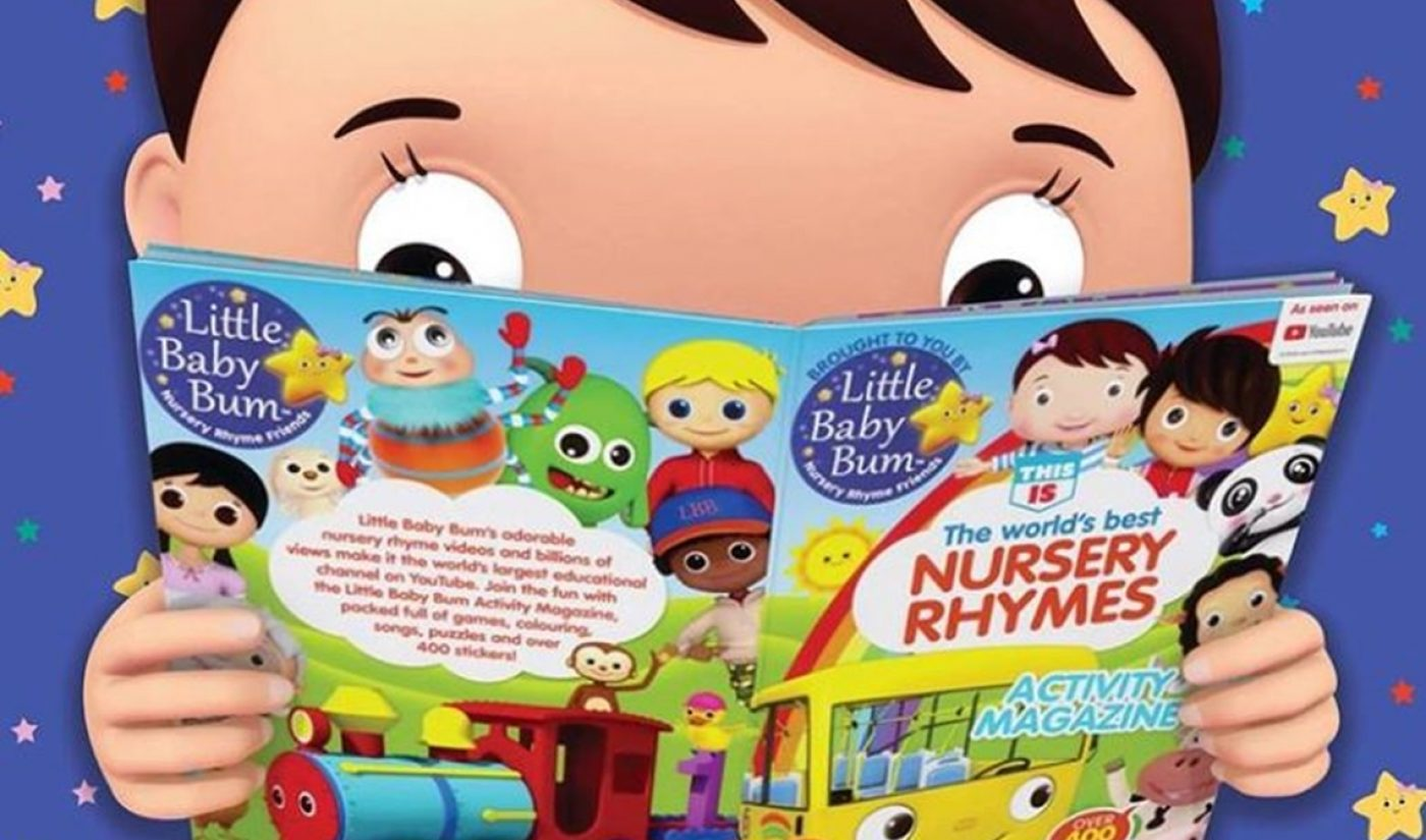 'Little Baby Bum' Owner Moonbug Raises $145 Million To Build Brand-Safe Kids' Content Empire