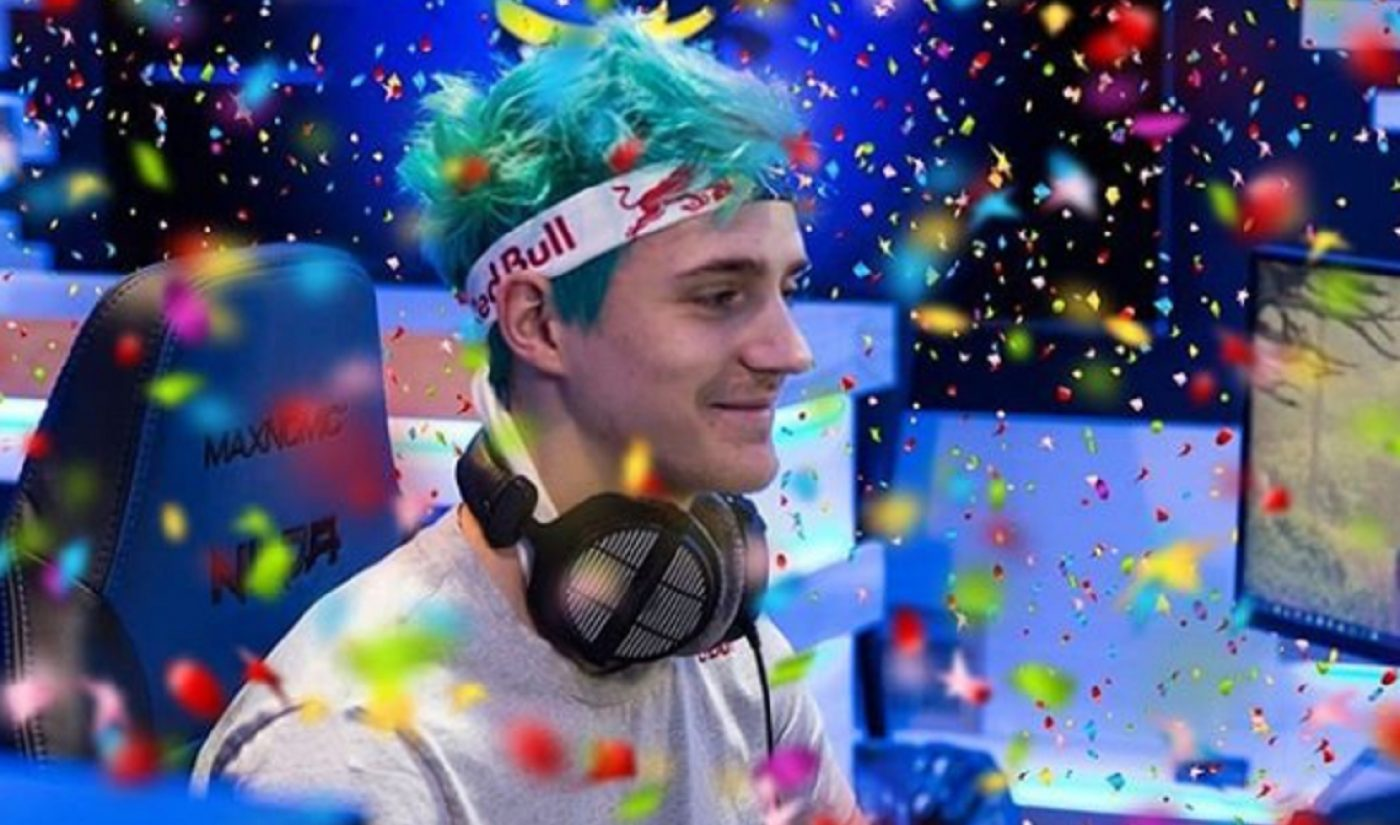 Ninja's Spent 3,800 Hours Streaming 'Fortnite' This Year. That's The Equivalent Of 95 40-Hour Workweeks.