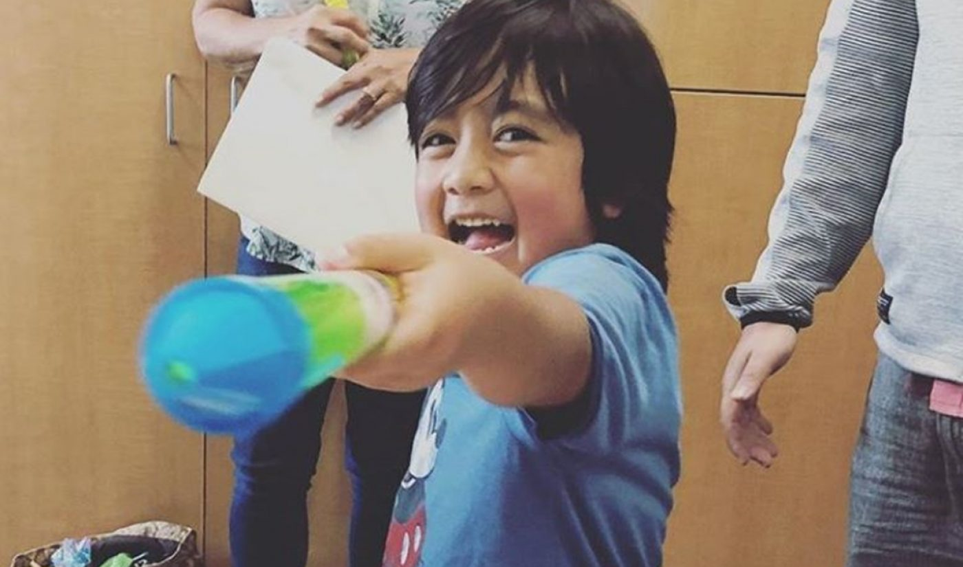 7-Year-Old Ryan ToysReview Reportedly Earned $22 Million On YouTube Last Year