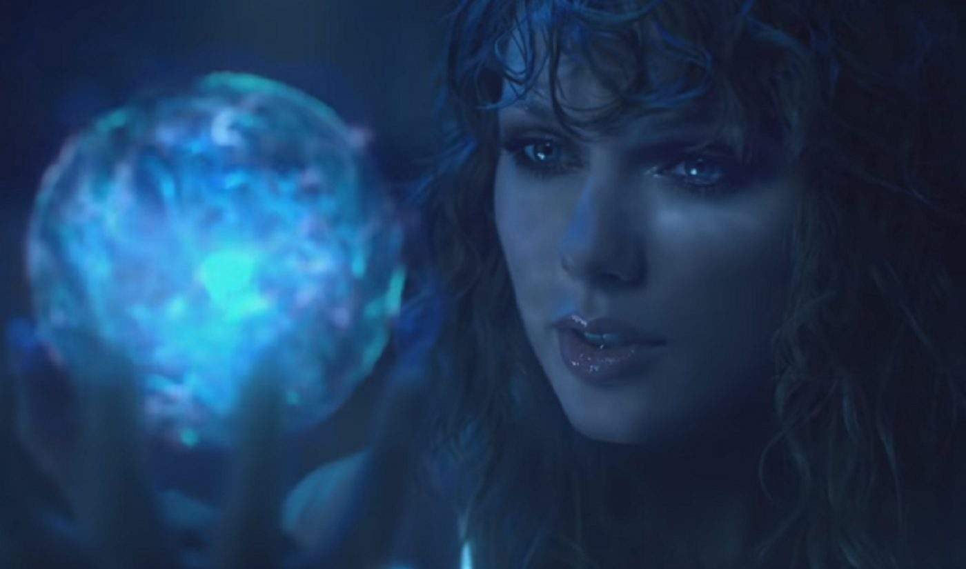Netflix Joins Forces With Taylor Swift To Air 'Reputation' Tour Film On New Year's Eve