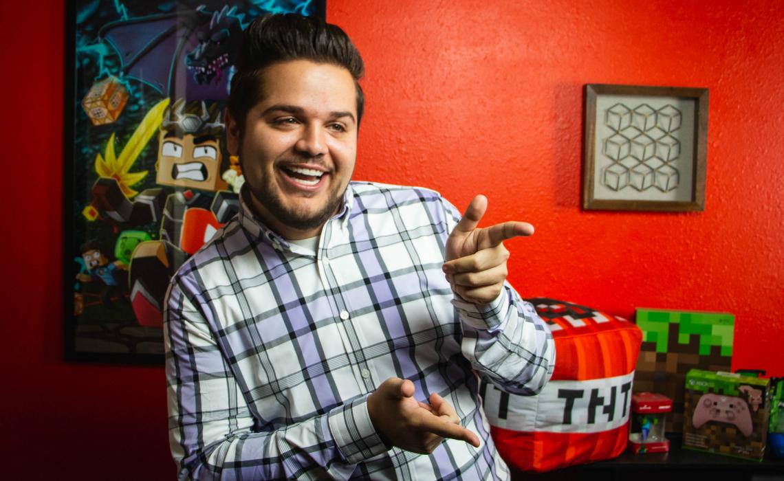 Minecraft YouTuber Logdotzip Launches 'Big Block Island